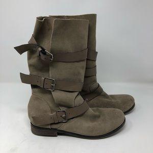 Steve Madden Shoes - Steve Madden 'Buck' suede riding boot size 9
